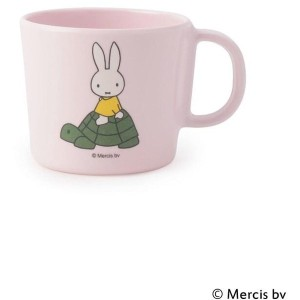 【one'sterrace(ワンズテラス)】 Dick Bruna miffy 柄付コップ キャラクター > キャラクターグッズ ピンク