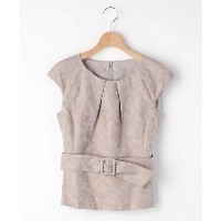 【OFF PRICE STORE(オフプライスストア)】 PINKY&DIANNE フラワーフレンチスリーブカットソー OUTLET > OFF PRICE STORE > トップス > カットソー...