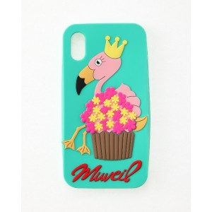 MUVEIL CPi Phoneケース for X○MA91EAC719 Flamingo パソコン・モバイル雑貨