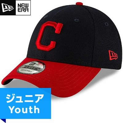 MLB インディアンス レプリカ9FORTYキャップ(ジュニア) New Era Cleveland Indians Youth Home Replica 9Forty Cap