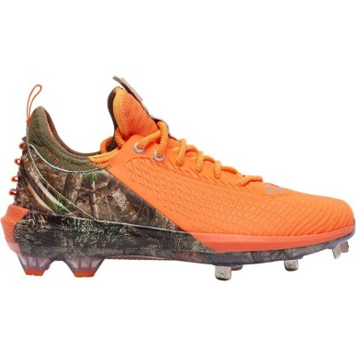 アンダーアーマー Under Armour メンズ 野球 シューズ・靴【Harper 5 Low ST】Panic Orange/Outpost Green/White