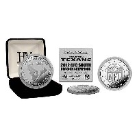 NFL コイン ハイランドミント 2012 South Division Champions Silver Coin