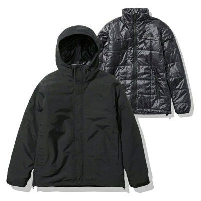 THE NORTH FACE THE NORTH FACE CASSIUS TRICLIMATE JACKET アトモスピンク コート/ジャケット コート/ジャケットその他 ブラック【送料無料】