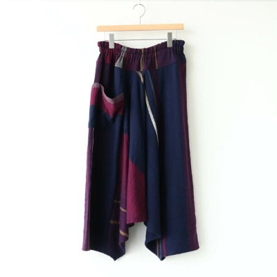tamaki niime | 玉木新雌 - TARUN PANTS LONG WOOL70% COTTON30% #D [21A-TPL-004]