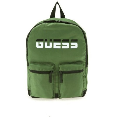 【SALE/60%OFF】GUESS (U)DUO Backpack ゲス バッグ リュック/バックパック カーキ ブラック レッド【送料無料】