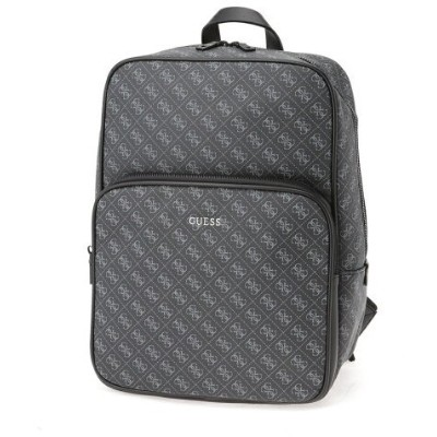 【SALE/30%OFF】GUESS (M)VEZZOLA 4G Logo Backpack ゲス バッグ リュック/バックパック ブラック【送料無料】