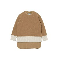 White Mountaineering/ホワイトマウンテニアリング  カットソー TRIPLE LAYERED LONG SLEEVES T-SHIRT WM2073521 BEIGE【三越伊勢丹...