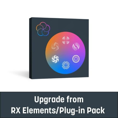 iZotope/RX Post Production Suite 5 upgrade from RX Elements/Plug-in Pack【オンライン納品】
