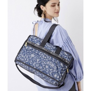 LeSportsac DELUXE MED WEEKENDER/フローラル レース アミュレット