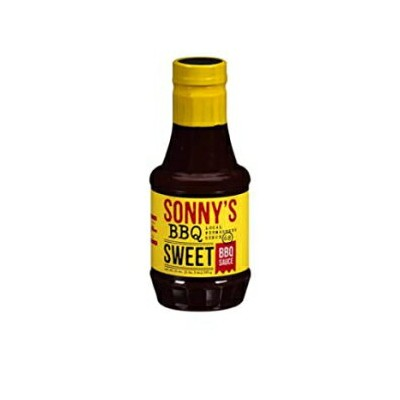 Sonny's Sweet Real Pit Barbecue Sauce 21 oz Bottle