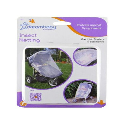 Dreambaby Insect Bug Netting for Strollers, Play Yards, Carriers, and Travel Systems (Stroller, 1...