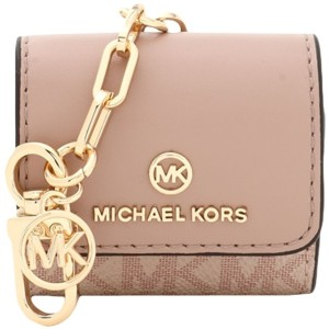 レディース MICHAEL MICHAEL KORS CLIPCASE FOR AIRPODS ポーチ ライトピンク