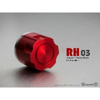 1.9 RH03 wheel hubs (Red) (4) GM70131 Gmadejapan Junfacjapan 05P01May16