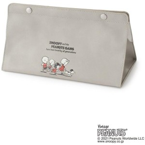 【one'sterrace(ワンズテラス)】 SNOOPY tente PEA 70th キャラクター > スヌーピー グレー