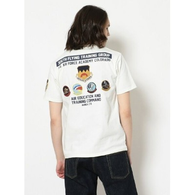 【SALE/40%OFF】AVIREX パッチドTシャツ 第306爆撃群/ S/S PATCHED T-SHIRT 306th FLYING TRAINING GROUP/AVIREX...