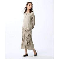 【UNTITLED/FAIRY SHADE(フェアリーシェード)】 「L」【洗える・WEB限定】カッセンジョーゼットワンピース OUTLET > UNTITLED/FAIRY SHADE >...
