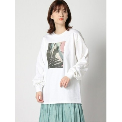 【SALE/29%OFF】apart by lowrys godlis LS/TEE*SS アパートバイローリーズ カットソー Tシャツ ホワイト グレー【送料無料】