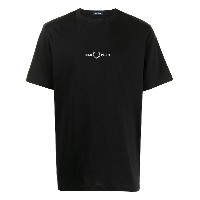 FRED PERRY ロゴ Tシャツ - ブラック