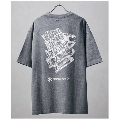 JOURNAL STANDARD relume 【Snow Peak*relume / スノーピーク】別注Shelf Container Printed Tee ジャーナル スタンダード レリューム...