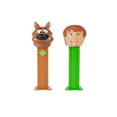 GRANITE MOUNTAIN PRODUCTS PEZ Scooby Doo Candy Dispensers Set - Scooby and Shaggy - Dispenser with...
