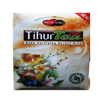 Sodot Hamizrach Kosher Tihur Tea Plus with Green Tea Body Purifying Herbal Brew 90 Tea Bags