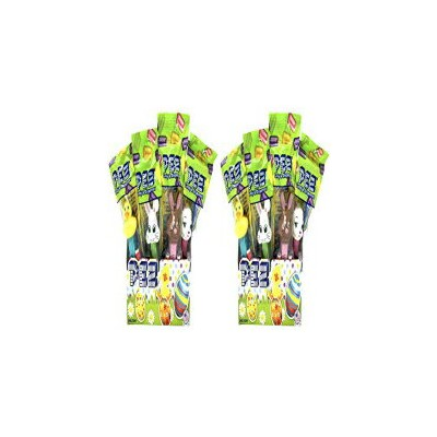 Pez Easter Candy Dispensers Individually Wrapped Dispensers and Pez Candy – Lamb, Bunny, Chick -...