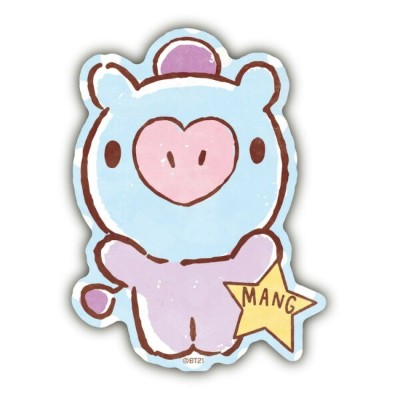 BT21 グッズ トラベルステッカー BABY MANG LINE FRIENDS
