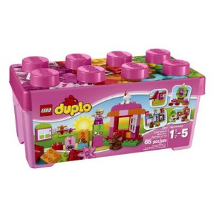 LEGO(レゴ) Duplo Creative Play All-in-One-Pink-Box-of-Fun デュプロ ピンクのコンテナデラックス - 10571・お取寄