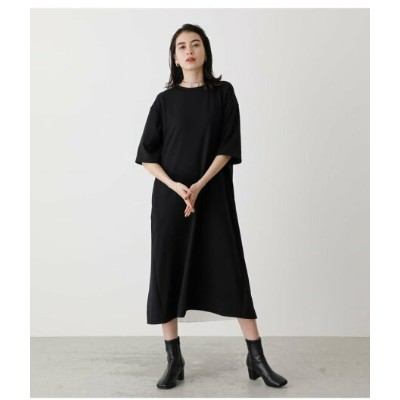 【SALE/70%OFF】AZUL by moussy BACK PLEATS ONEPIECE アズールバイマウジー ワンピース 5ー9分袖ワンピース ブラック グリーン ホワイト
