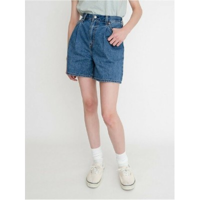 Levi's PLEATED RIBCAGE SHORT NOW AND THEN SHORT リーバイス パンツ/ジーンズ ショートパンツ【送料無料】