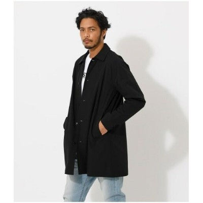 【SALE/50%OFF】AZUL by moussy NYLON STRETCH SHOP COAT アズールバイマウジー コート/ジャケット コート/ジャケットその他 ブラック カーキ
