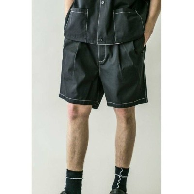 【SALE/63%OFF】BEAUTY & YOUTH UNITED ARROWS  monkey time  TC TWILL WIDE SHORT stitch/ショートパンツ...