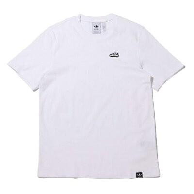 adidas adidas SST EMB TEE アトモスピンク カットソー Tシャツ ホワイト【送料無料】