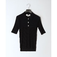 TRADITIONAL WEATHERWEAR SHORT SLEEVE RIB KNIT POLO○L201SMKPO0251CX Cx03/navy トップス