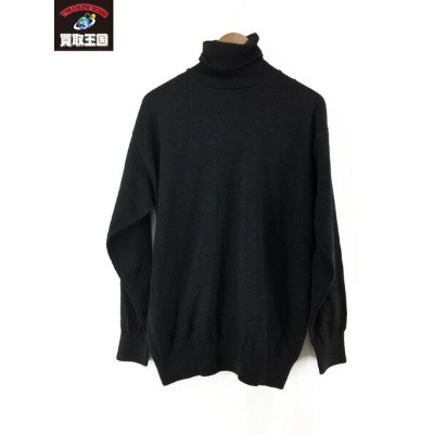 MANUAL ALPHABET ALL TIME KNIT TURTLE(1)CHARCOAL【中古】