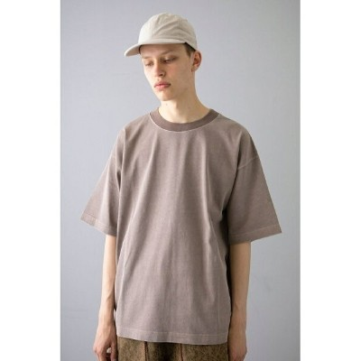 【SALE/40%OFF】BEAUTY & YOUTH UNITED ARROWS  monkey time  PIGMENT NEP TRIM NECK T/Tシャツ ビューティ&ユース...