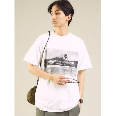 UNITED ARROWS green label relaxing [ ファング ] FUNG LIVE LIFE 半袖 Tシャツ カットソー ユナイテッドアローズ グリーンレーベルリラクシング...