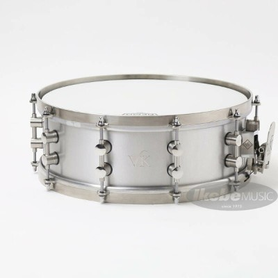 """VK DRUMS 2mm Aluminium Snare Drum 14""""×5"""" [Made in England]"""