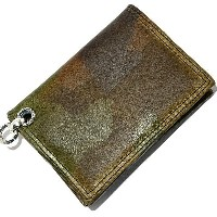 LONE ONES(ロンワンズ) MFW-0002 CAMO Leather CardCase カモフラージュレザーカードケース