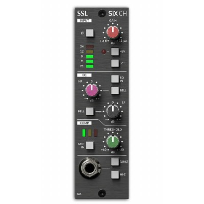 Solid State Logic (SSL) / 500 Series SiX Channel (mono)【お取り寄せ商品】