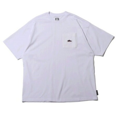DC SHOES DC SHOES 21 20S WIDE PK LYNX EMB SS アトモスピンク カットソー Tシャツ ホワイト【送料無料】
