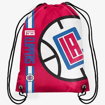 NBA チームロゴ ドローストリング バックパック クリッパーズ FOCO Los Angeles Clippers Team Logo Drawstring Backpack