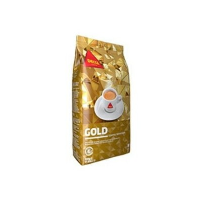 Delta Cafes DELTA Coffee - GOLD Blend Whole Beans 1Kg / 2.2 lbs Set of 3