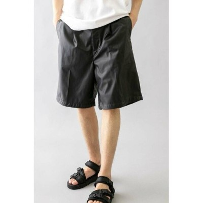 【SALE/30%OFF】BEAUTY & YOUTH UNITED ARROWS  monkey time  FAKE LTHR WIDE SHORT/ショートパンツ ユナイテッドアローズ...