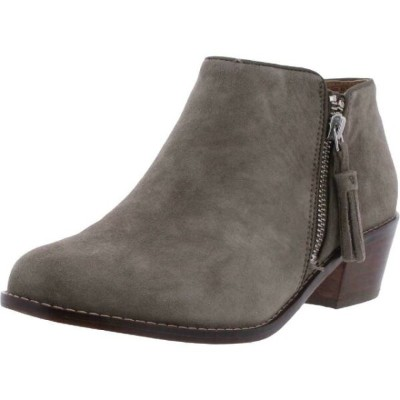 Vionic シューズ ブーティ Vionic Womens Serena Suede Ankle Stacked Heel Booties Shoes