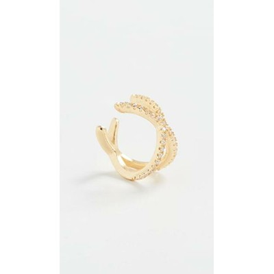 Stacey Pave Ear Cuff レディース