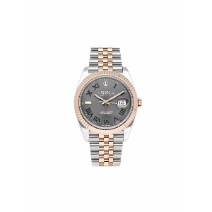 Rolex 2019 pre-owned Oyster Perpetual Datejust 41mm - グリーン