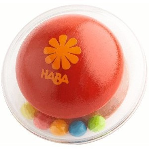 HABA ハバ社 おもちゃ 知育玩具 ラトル Click Clack Rattle Clutching toy (RED)