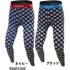 OUTDOOR スター レギンス PAGO104Z