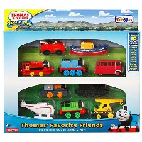 きかんしゃトーマス 10体セット Thomas & Friends Take-n-Play Exclusive THOMAS' FAVORITE FRIENDS 10-Die-cast...
